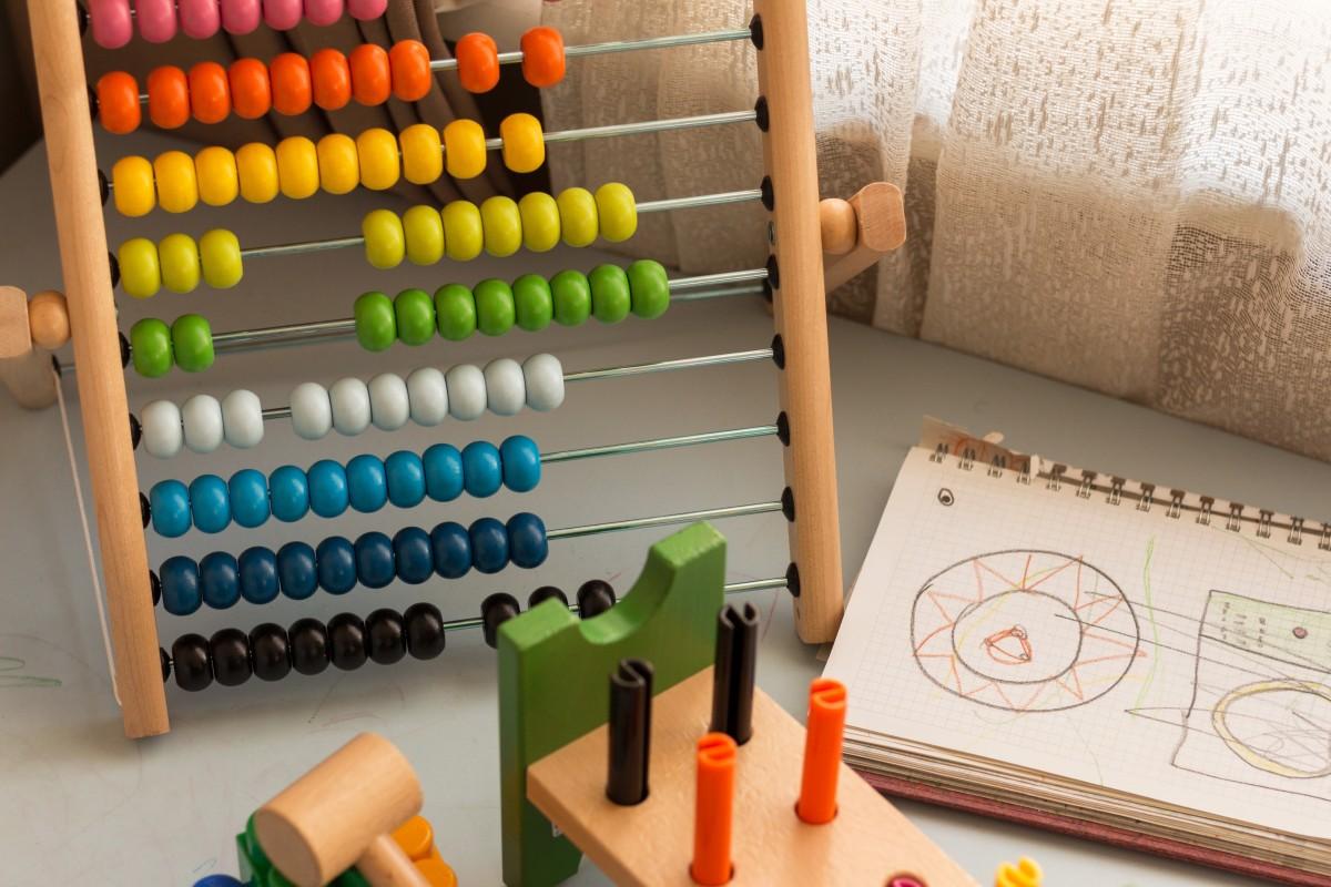 Un aula de educación infantil