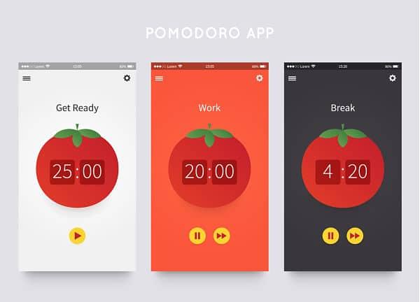 aplicaciones para técnica pomodoro