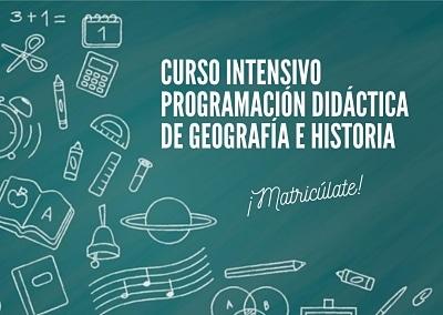 Programación didáctica greografía e historia 2021