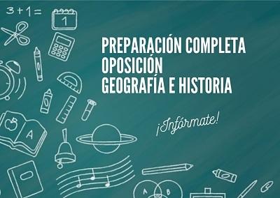 Preparador oposiciones geografía e historia en Santiago de Compostela
