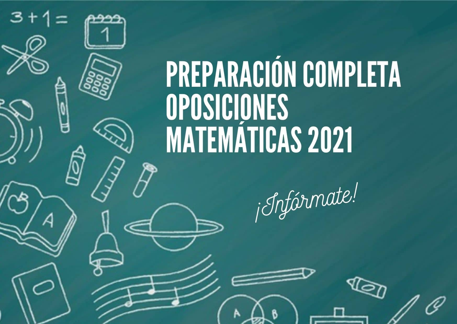 Preparador oposiciones matemáticas secundaria en Coruña y Santiago de Compostela