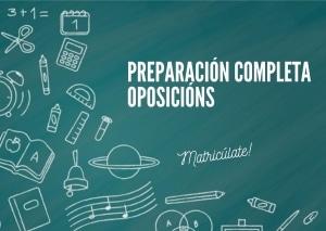 Oposición a profesor de educación secundaria en Galicia