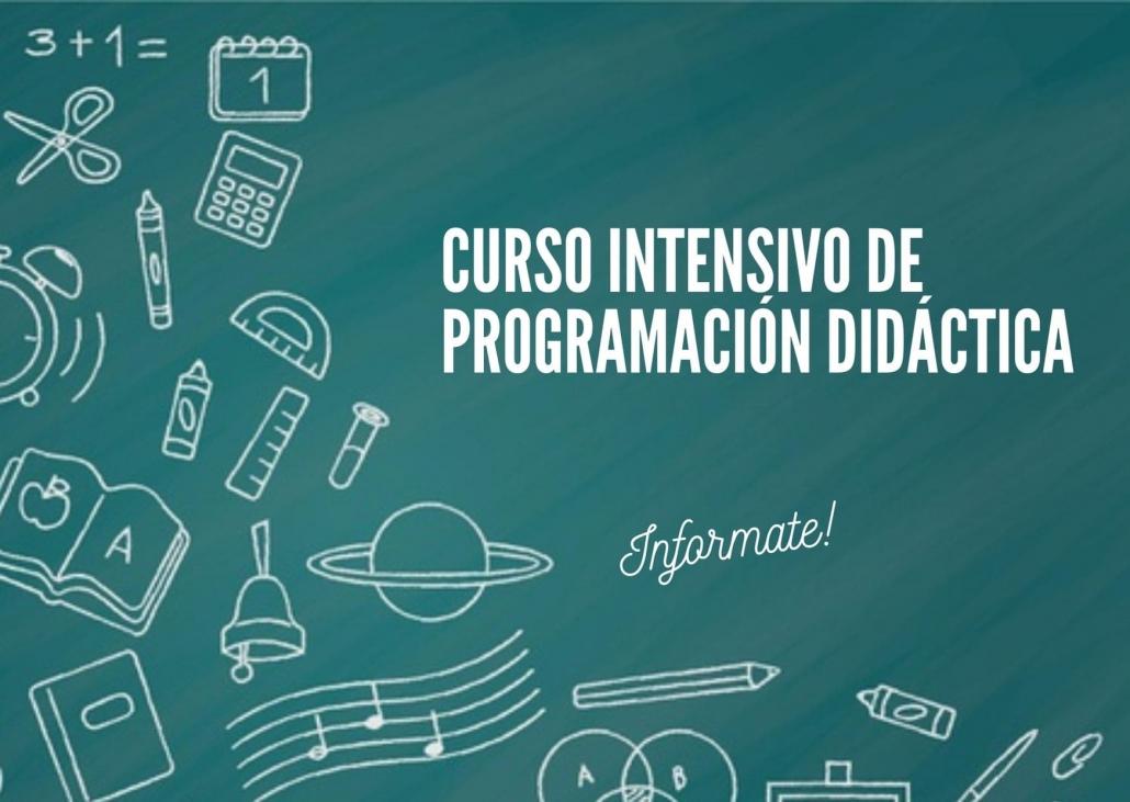 Curso de programación didáctica para maestros